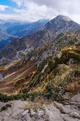 Beautiful autumn mountain landscape