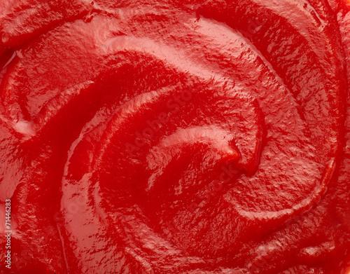 Foto op Plexiglas Kruiderij Ketchup tomato sauce background