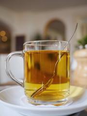 black tea glass restaurant
