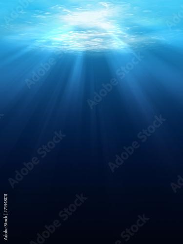 Underwater scene background - 71448011