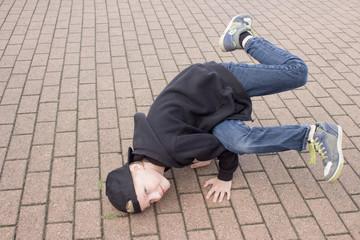 Breakdance Tänzer Kind Jugendlicher