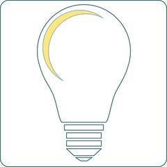 Start up light bulb stock vector