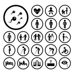 human life icon