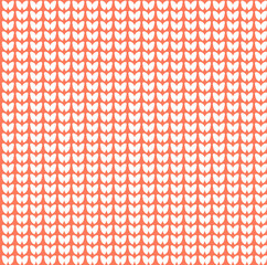 Knitted seamless background