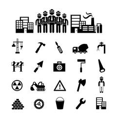 construction team  icon
