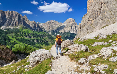 Dolomiti - trekking in Badia Valley