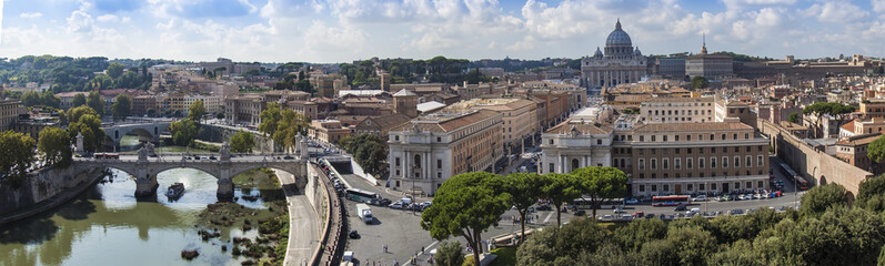 Rome, Italy, on October 10, 2012. Typical urban view