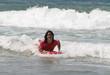 je glisse sur les vagues