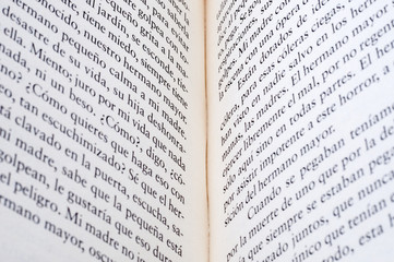 open book as background