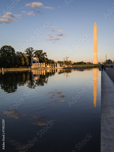 Washington Monument from the mall - 71452289