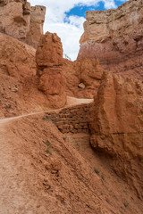 Way down to the Bryce Canyon