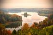 Jedzelwo Lake in autumn. Masuria, Stare Juchy. - 71452806