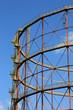 canvas print picture - Treppen am Gasometer III