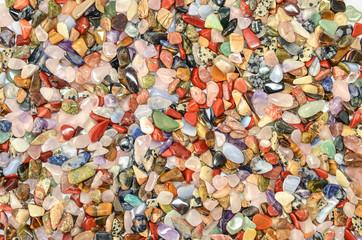 Polierte Edelsteine Heilsteine Fülle