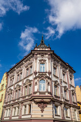 Neo-Baroque tenement in  in Cieszyn