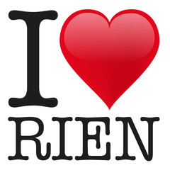 I love Rien