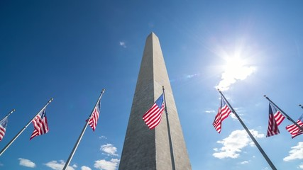 Washington Monument timelapse