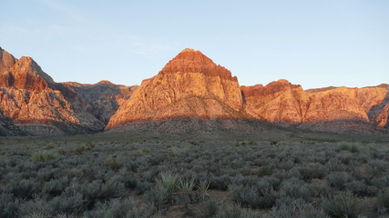 Red Rock Canyon Time Lapse - Las Vegas Nevada