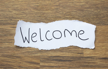 Written Welcome