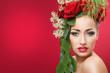 canvas print picture - Flower Beauty 1