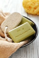 Greek olive soap
