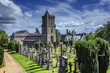 Old church in Scottish Graveyard