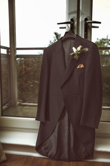 Mans wedding coat