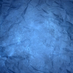 blue yellowish wrinkled paper texture or background