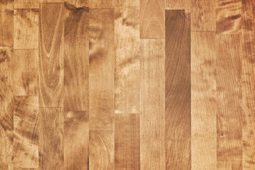 Shining brown wooden parquet. Detailed background photo texture
