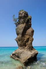 沖縄の海・津堅島