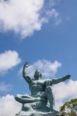 平和祈念像@長崎平和公園