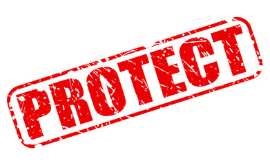 Protect red stamp text