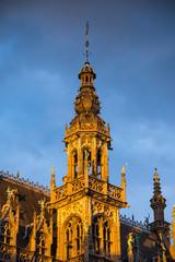 Tower in Grand Place, Bruxelles, Belgium