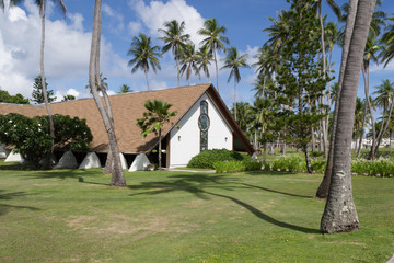 South Pacific island Chapel