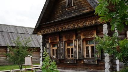 Изба-дом российского крестьянина