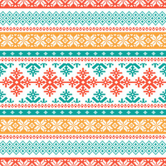 Traditional knitted background