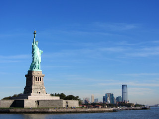 Statue of Liberty and Jersey