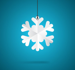 Snowflake label
