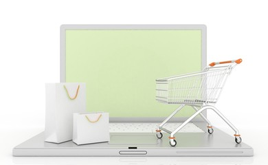 Internet shopping in 3-d visualization