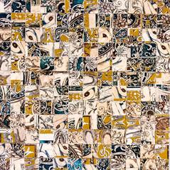 stone marble background mosaic