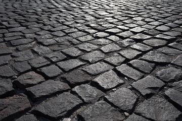 Stone road texture