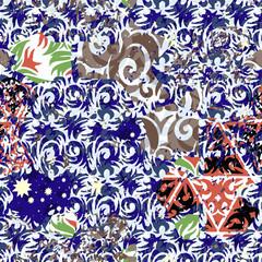 Seamless pattern patterned
