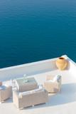 View on Oia in Santorini
