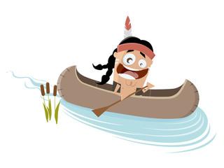 kanu indianer kajak boot