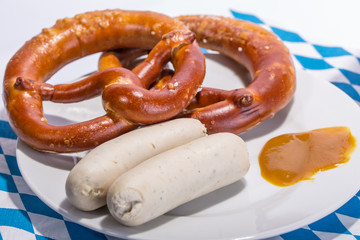Bavarian white sausages