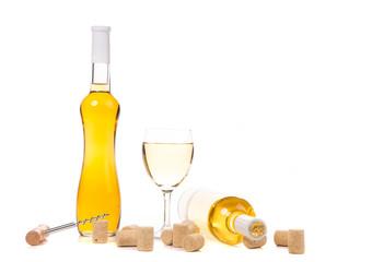 Gentle white wine composition.