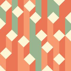 Isometric block vector background