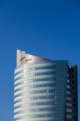 Blue Hotel Tower Under Clear Blue Sky