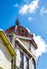 Old Brown Domed Church in Martinique