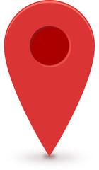 Map Marker (Flat Design)